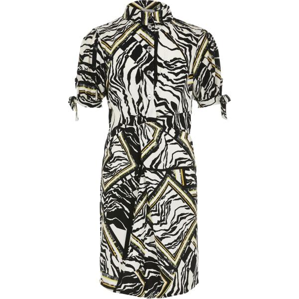 River Island - blusenkleid mit zebraprint - 1