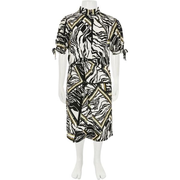 River Island - blusenkleid mit zebraprint - 2