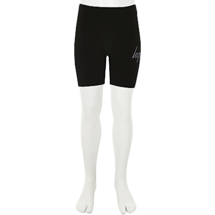 Girls Hype black cycling shorts