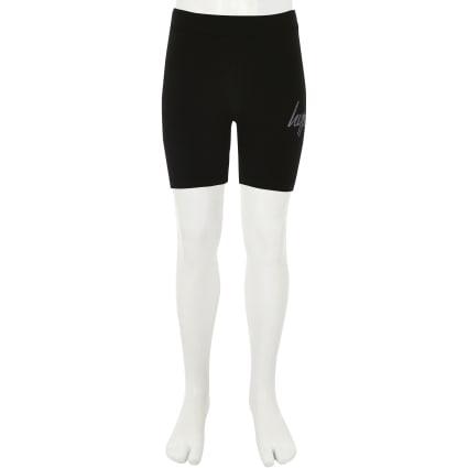 Girls Hype black cycling shorts
