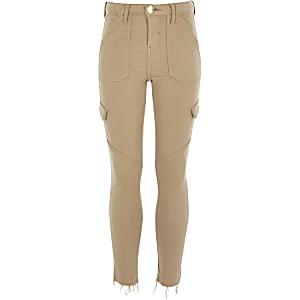 Amelie – Steingraue Skinny Jeans