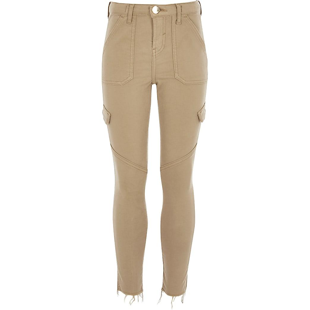 Girls stone Amelie skinny jeans