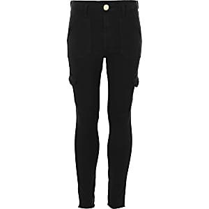 Amelie zwarte skinny jeans voor meisjes