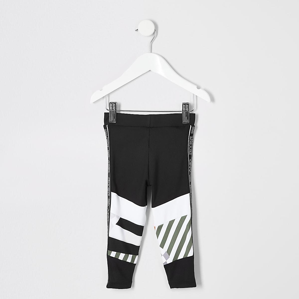 Mini - Zwarte RI Active legging voor meisjes