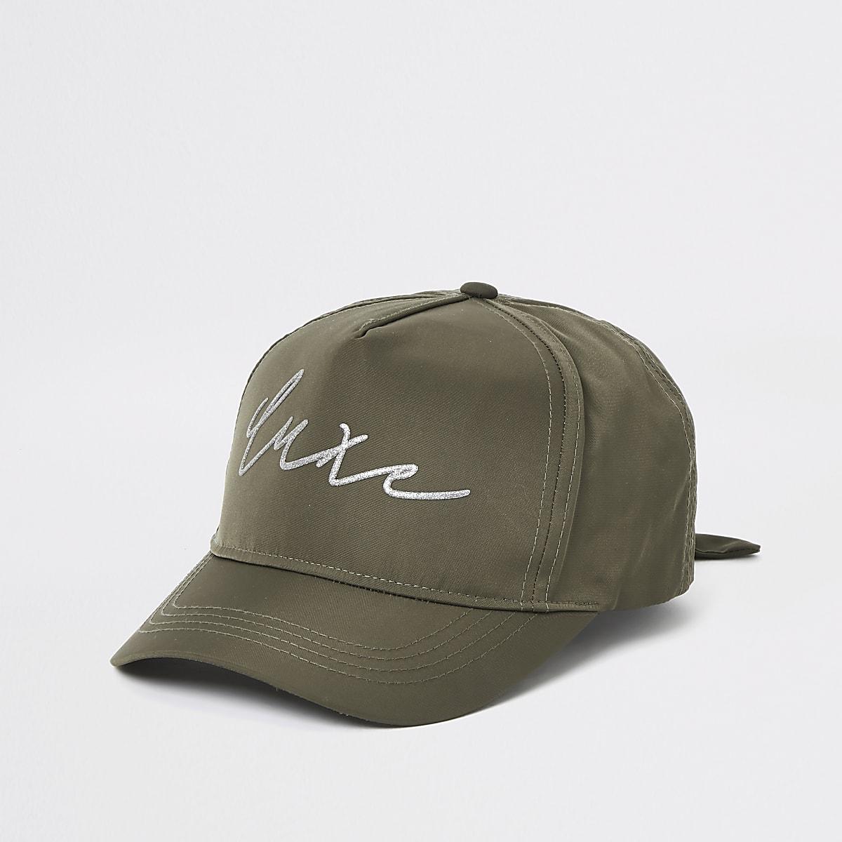 Girls RI Active khaki cap