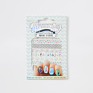 Girls NPW Mermazing nail stickers