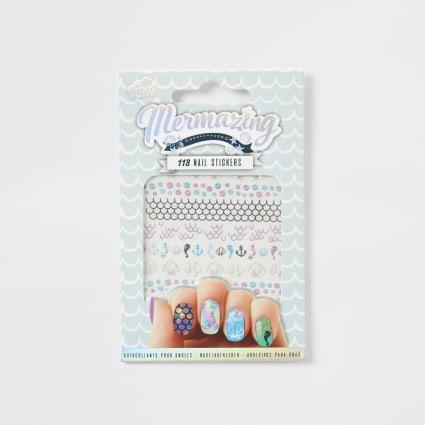 Girls NPW Mermazing nail stickers