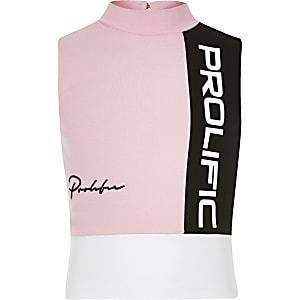 """Pinkes Oberteil """"Prolific"""""""