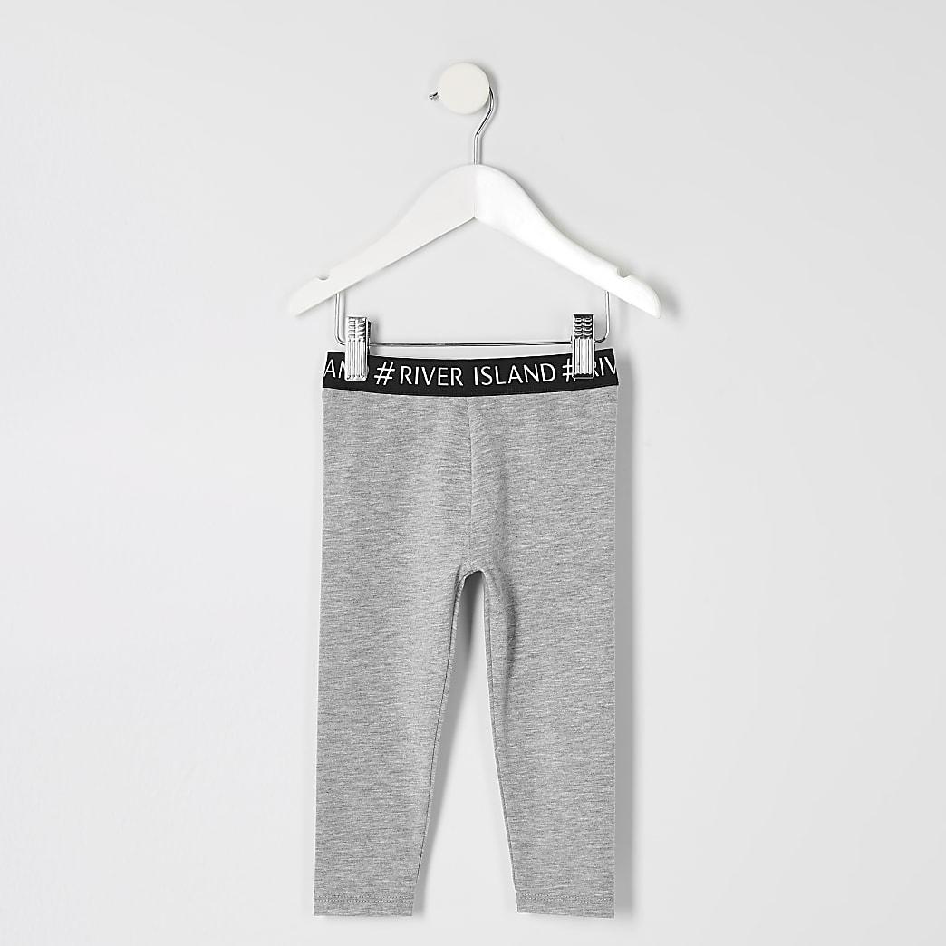 Mini - Grijze legging voor meisjes
