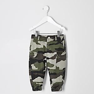 Mini - Utility broek met camouflageprint voor meisjes