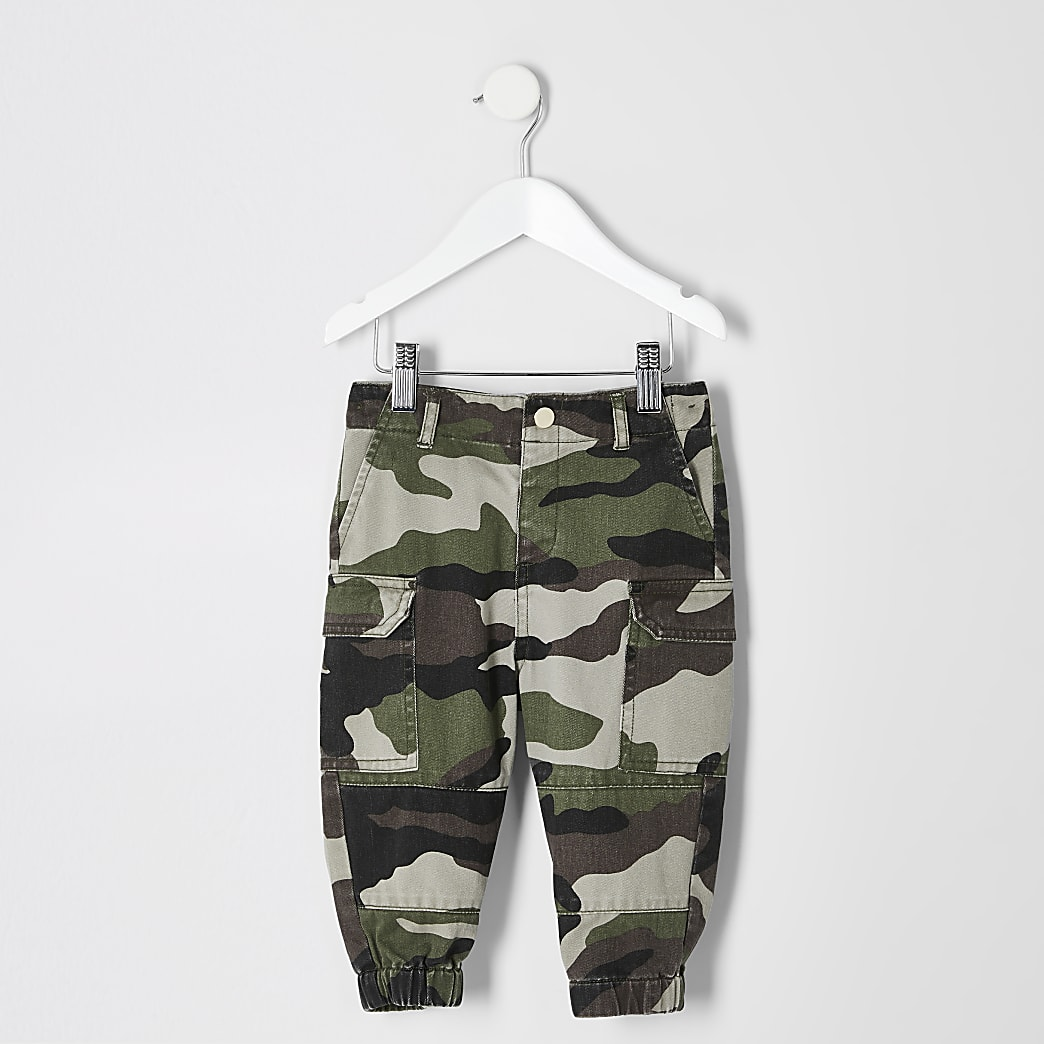 Pantalon camouflage fonctionnel mini fille