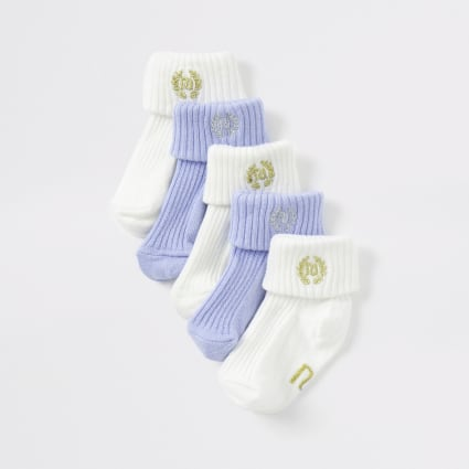 Baby blue RI socks multipack