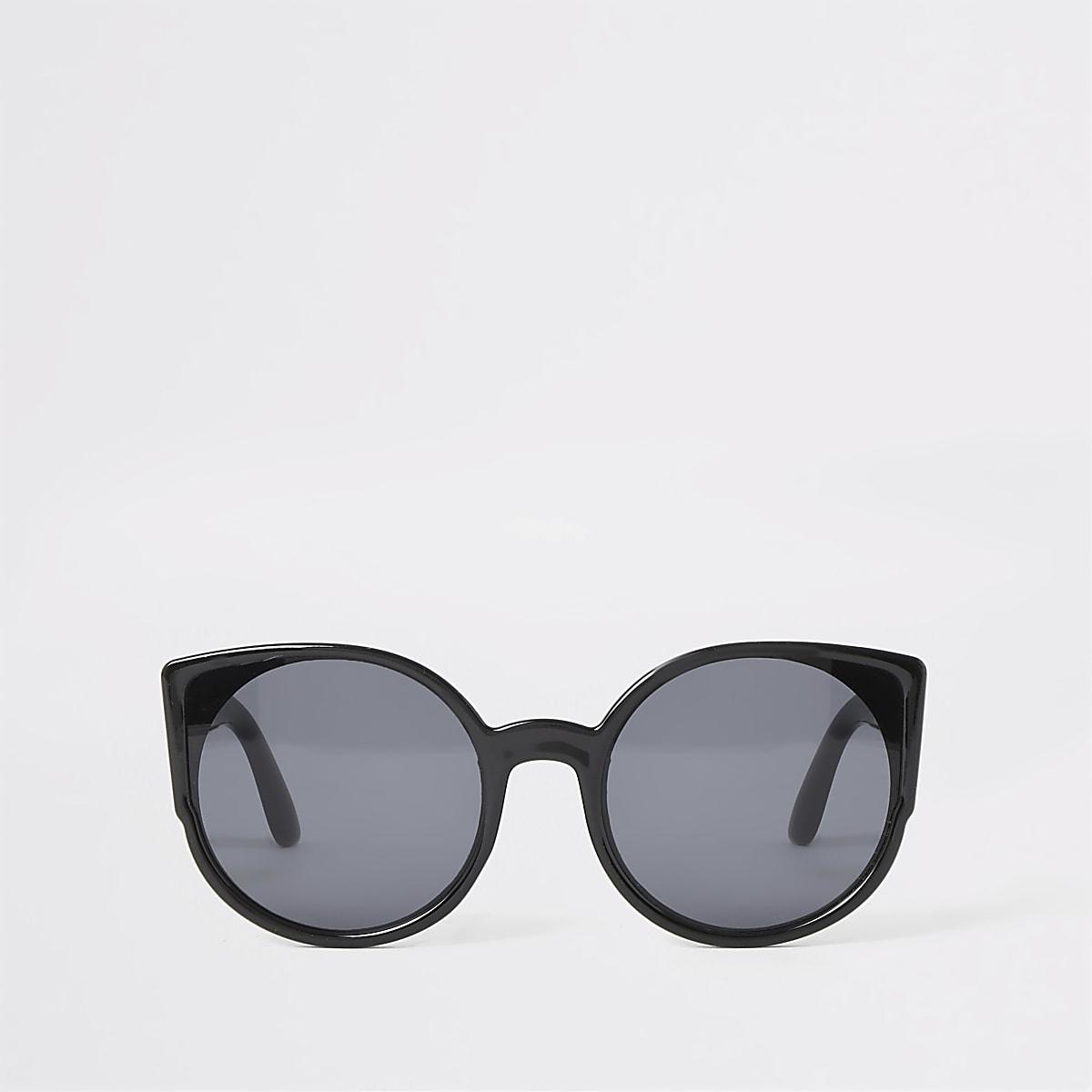 Girls black cat eye sunglasses