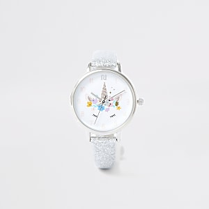 Armbanduhr in Silber