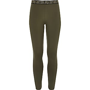Girls RI Active khaki leggings