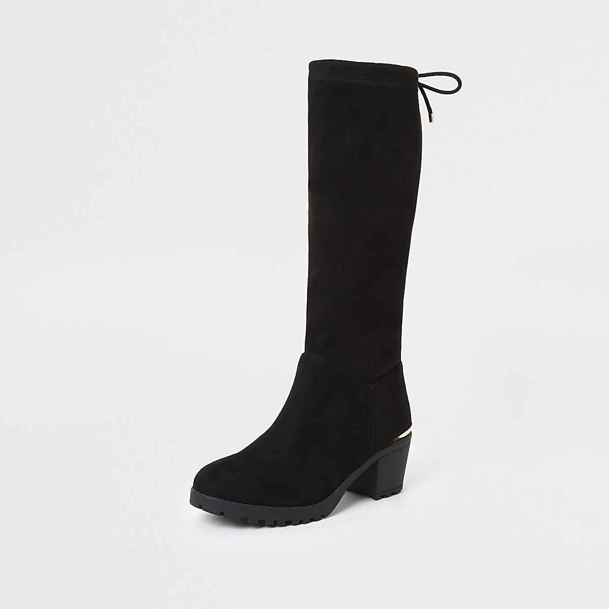hot-selling authentic outlet store best deals on Girls black knee high boots