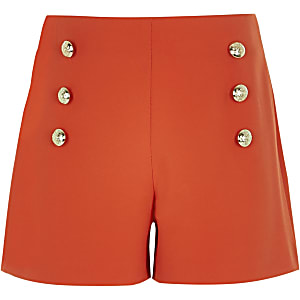 Rote Military Shorts