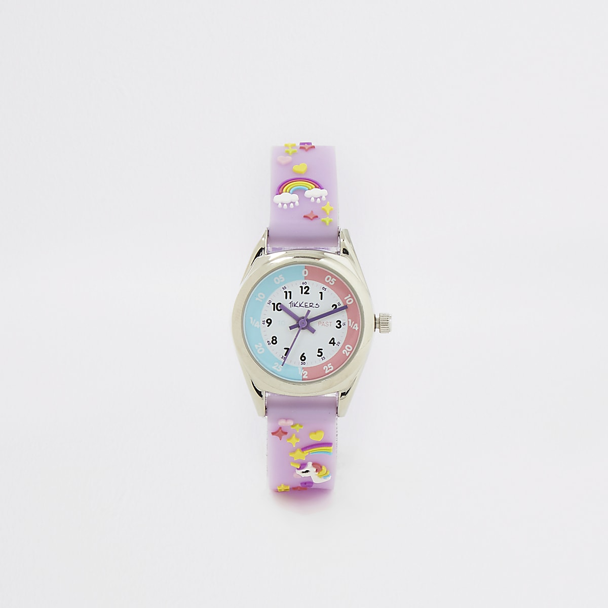 Kids Tikkers purple time teacher watch