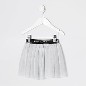 Mini - RI Active - Grijze mesh tutu voor meisjes