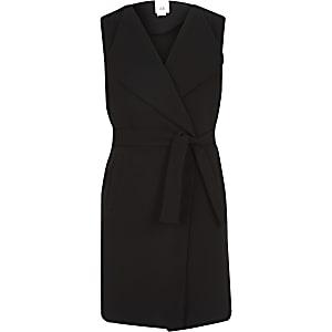 Zwarte dusterjas voor meisjes