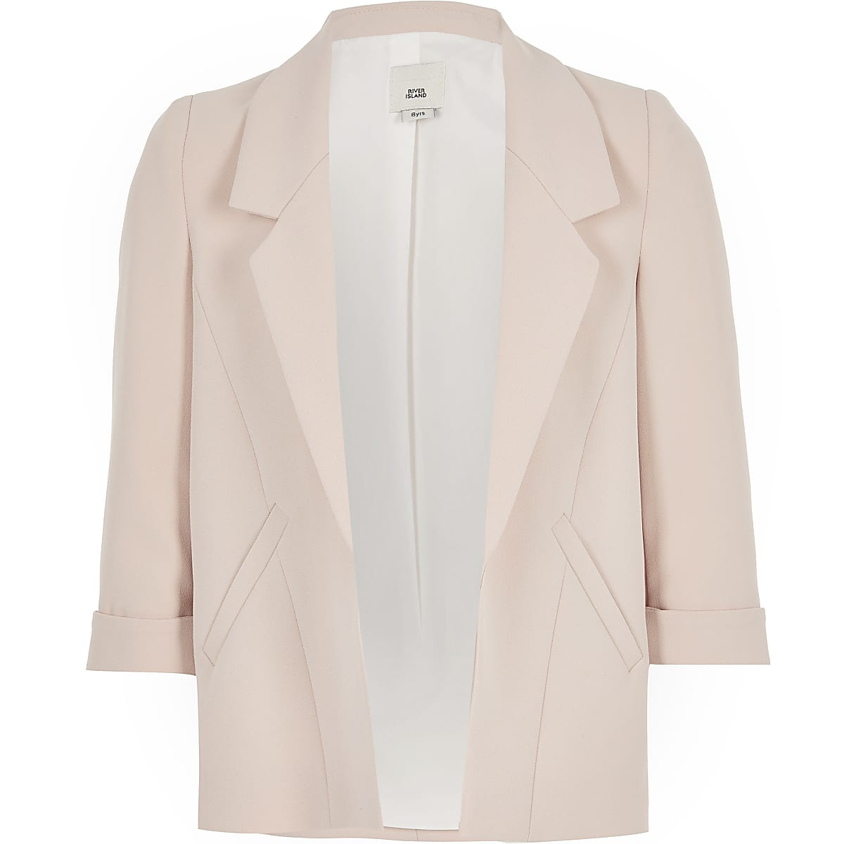 Girls pink blazer