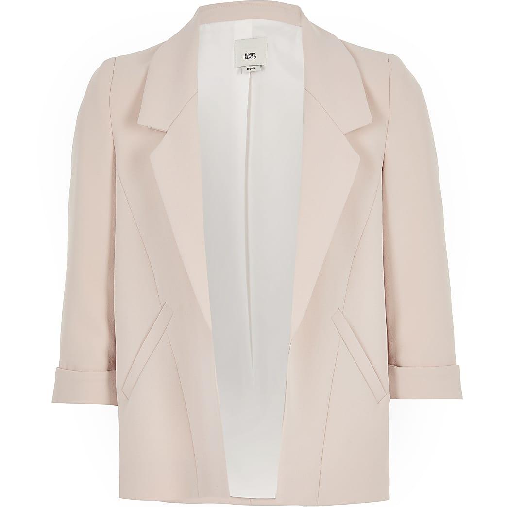 Girls pink blazer