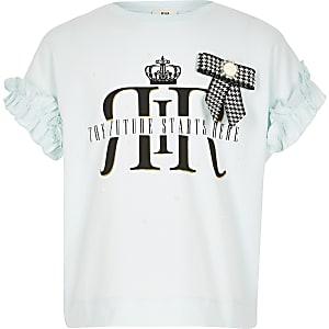 Hellblaues T-Shirt