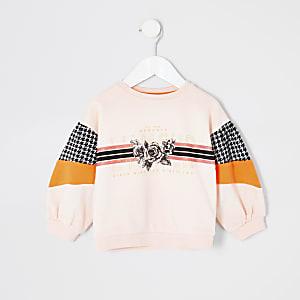 "Pinkes Sweatshirt ""Lamour"""