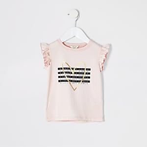 """T-Shirt """"A little bit fierce"""" in Pink"""