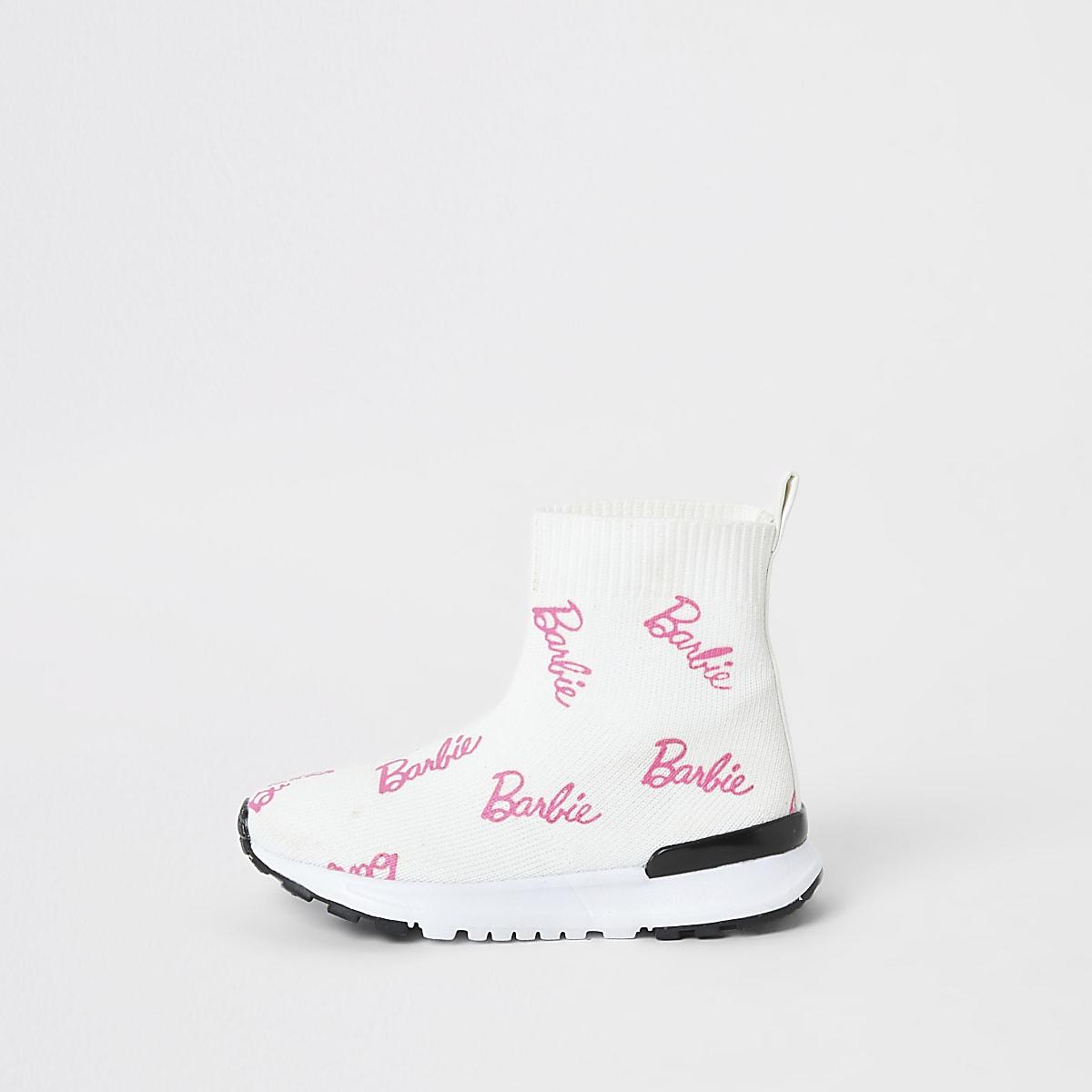 Mini - Barbie soksneakers voor meisjes