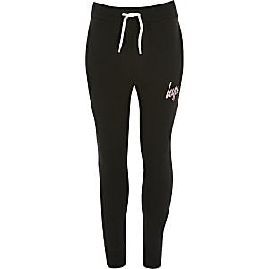 Hype – Schwarze Jogginghose für Mädchen
