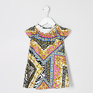 Rosa Kleid mit Print