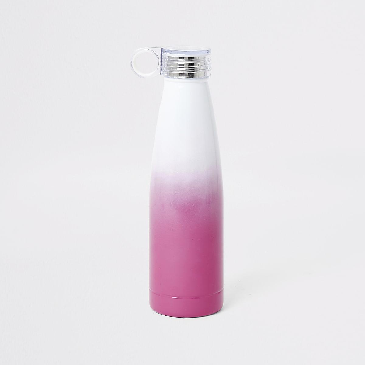 Girls pink water bottle