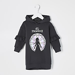 "Mini – Schwarzes Sweater-Kleid ""Eiskönigin 2"""
