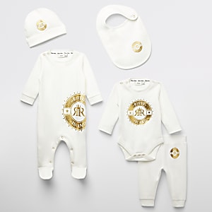 RI – Baby-Pack mit Folienprints in Creme