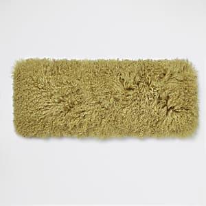 Yellow Mongolian rectangle cushion