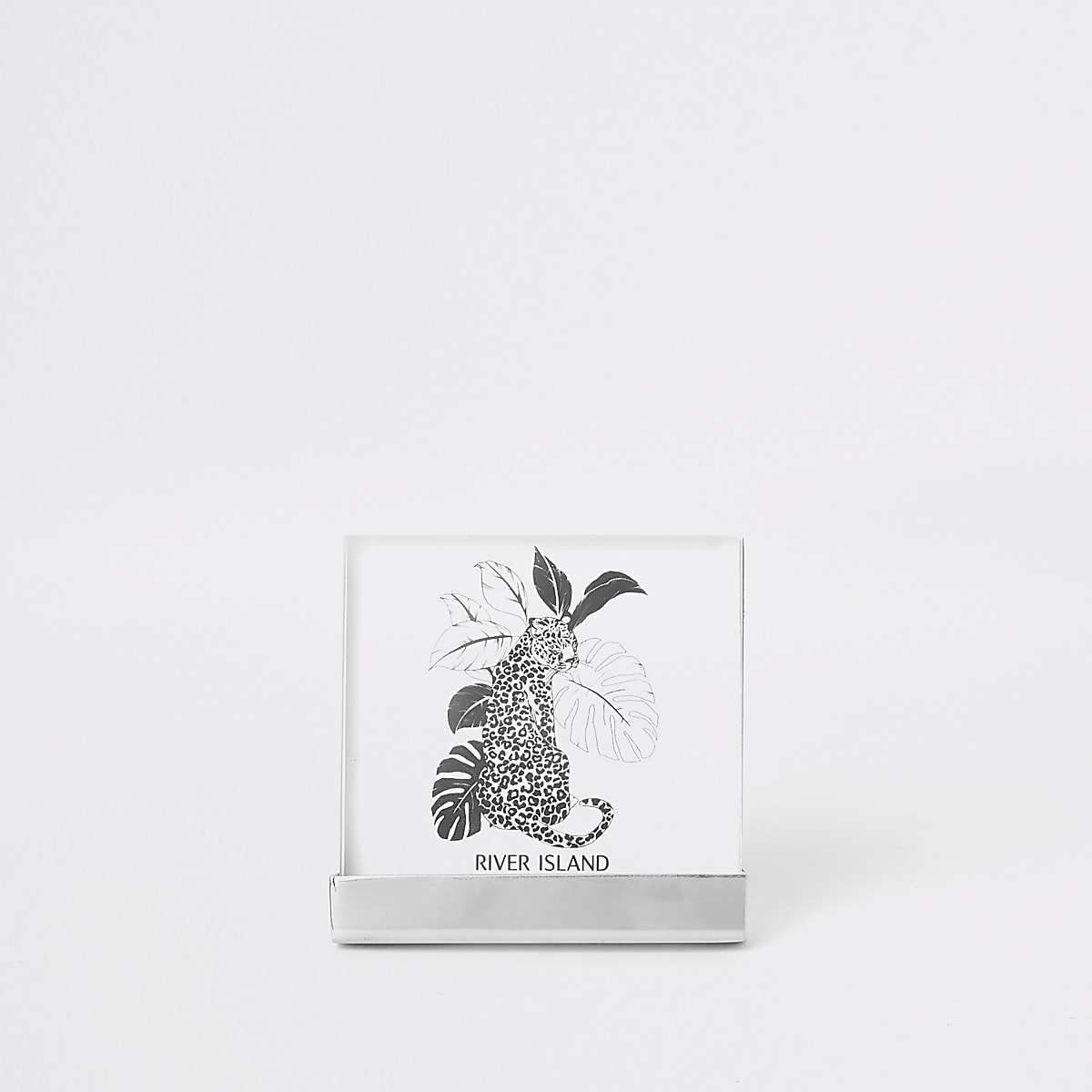 "Silver 4x4"" small perspex photo frame"