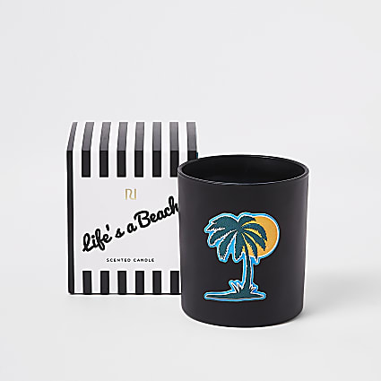Palm tree bergamont, ozonic & coconut candle