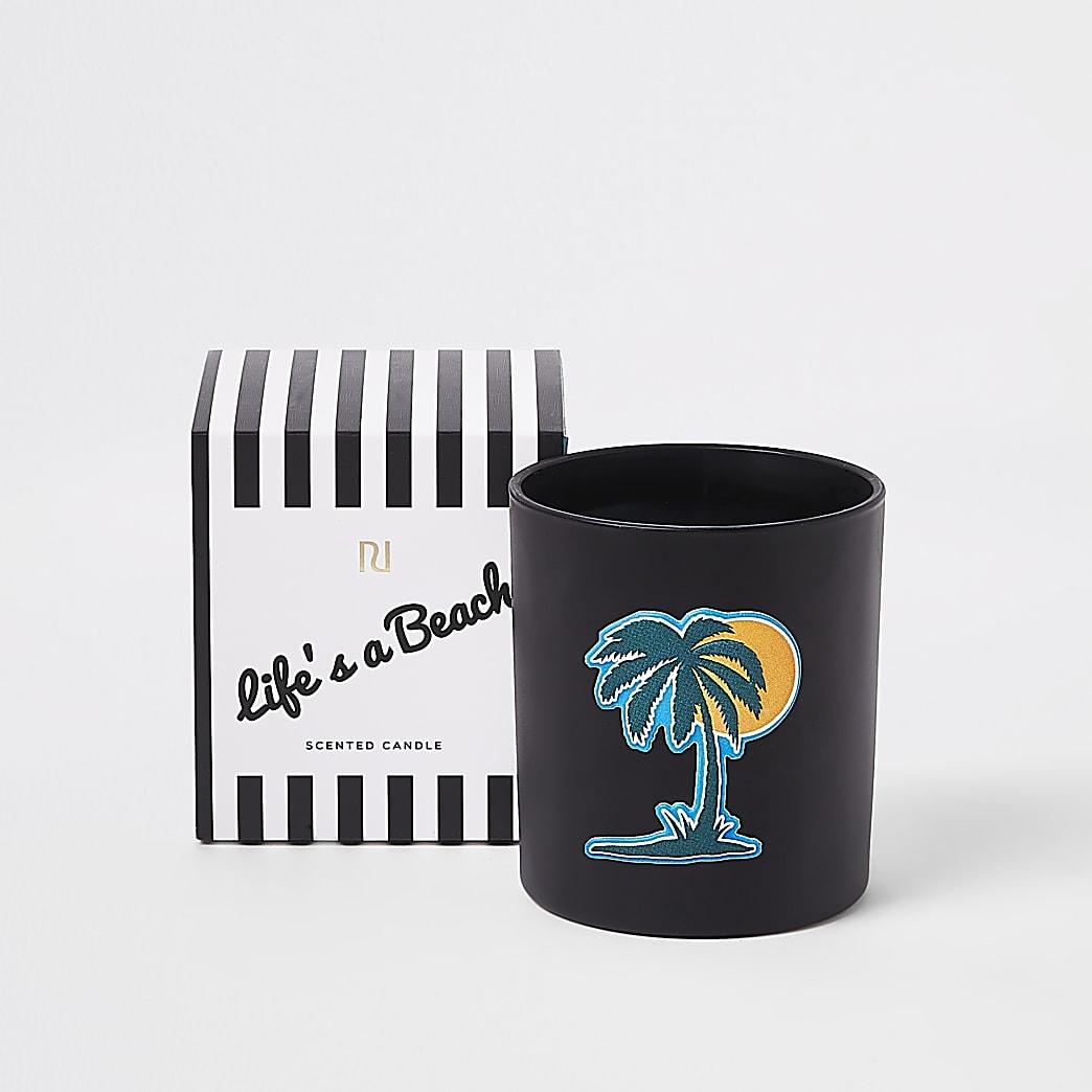 Palm tree bergamont, ozonic & coconut candle