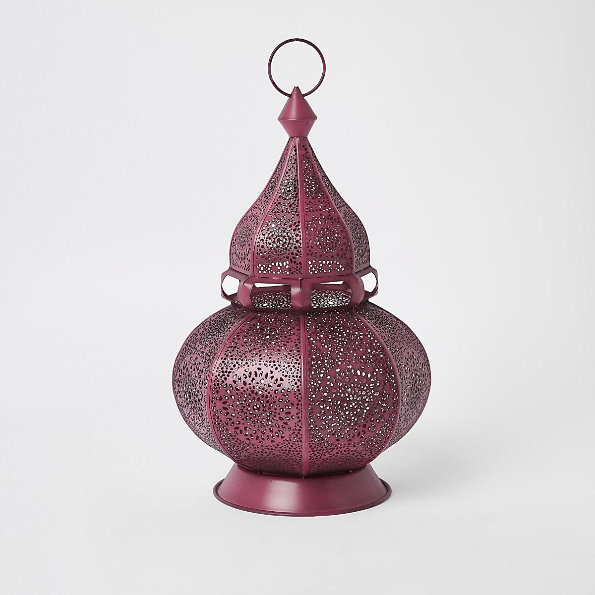 Pink decorative genie lantern