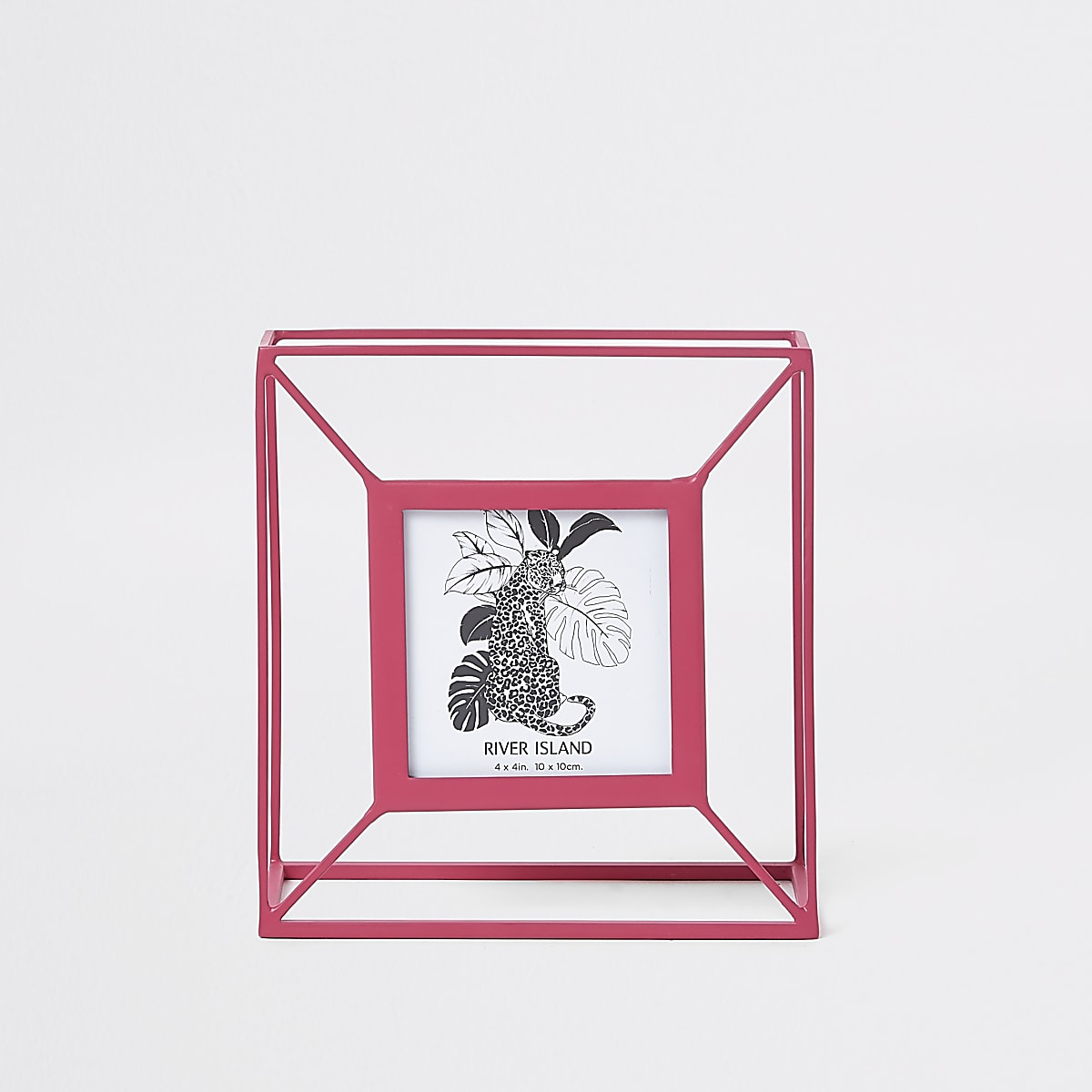 Pink small wired photo frame
