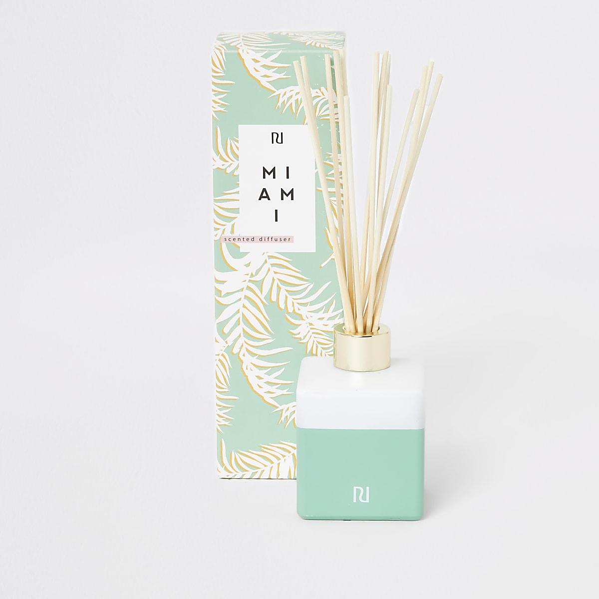 Miami bergamot, eucalyptus & vanilla diffuser