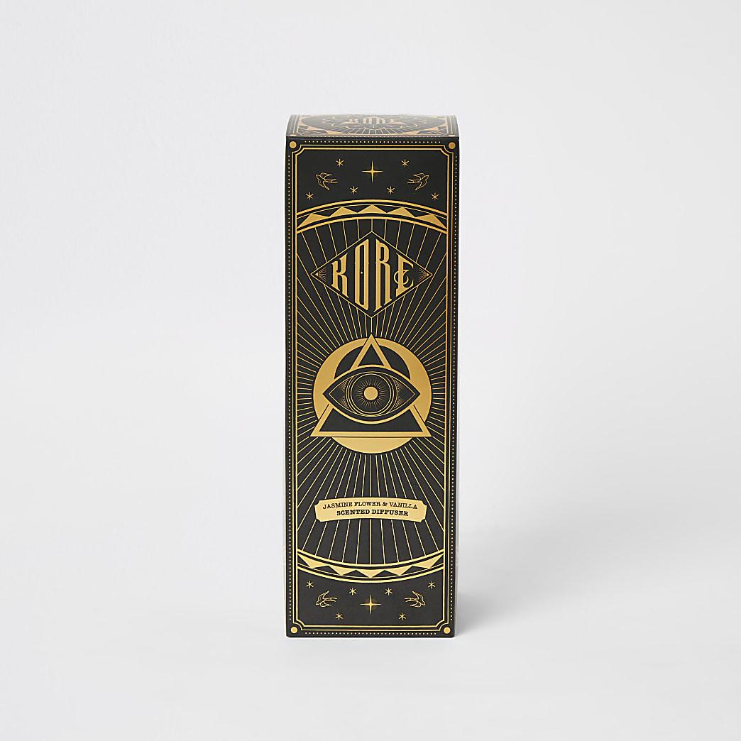Goudkleurige Jasmine en vanille diffuser150ml