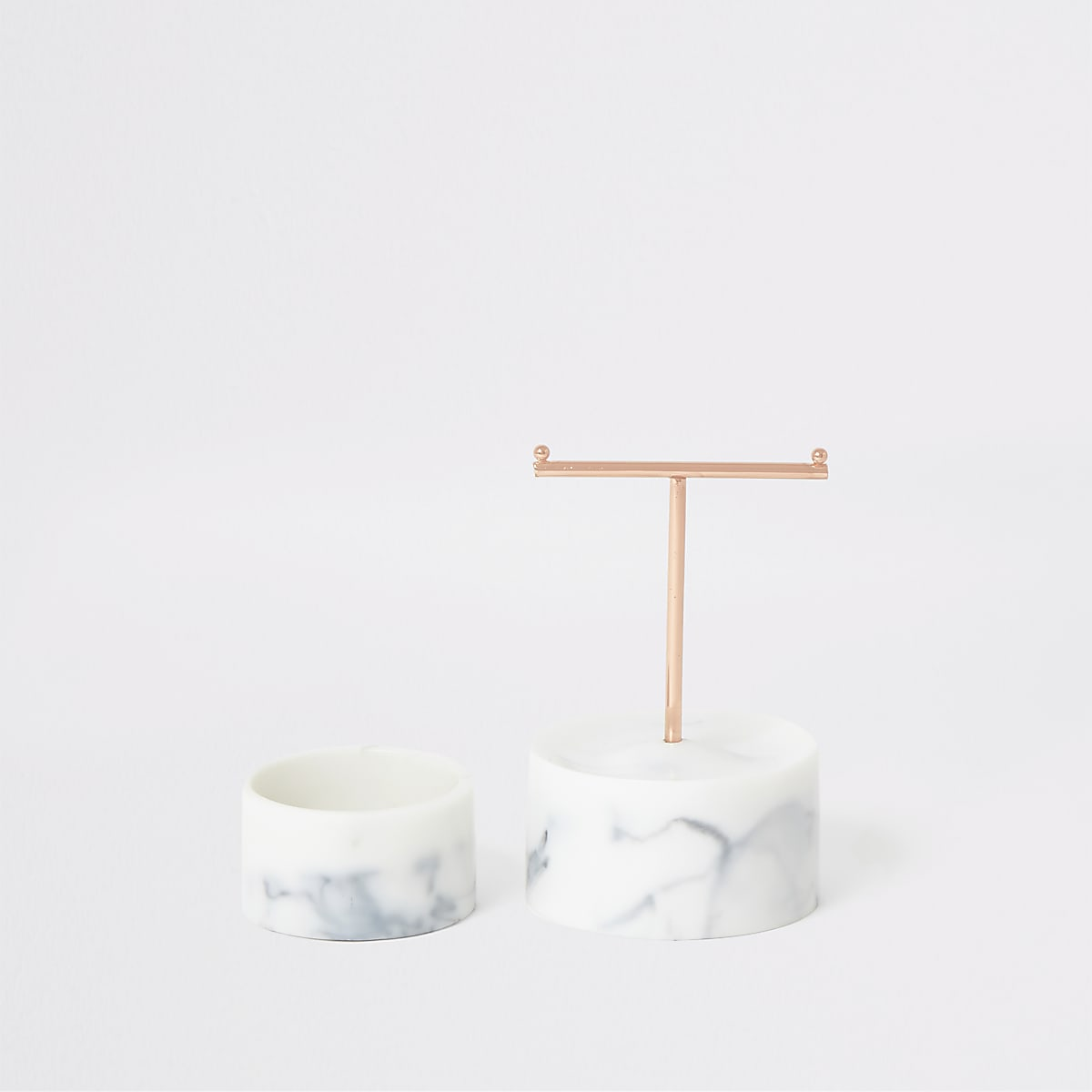 Stackers marble effect T-Bar jewellery stand