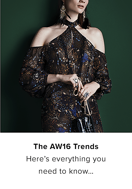 THE AW16 TRENDS
