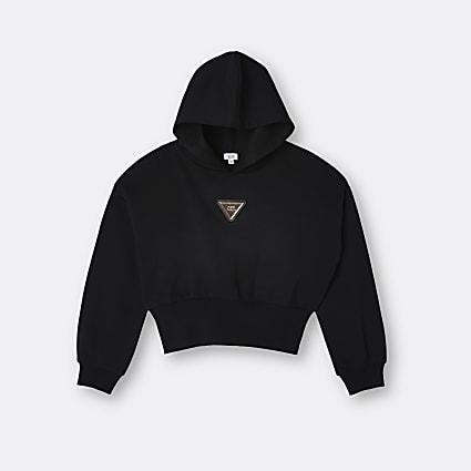 Age 13+ black hoodie