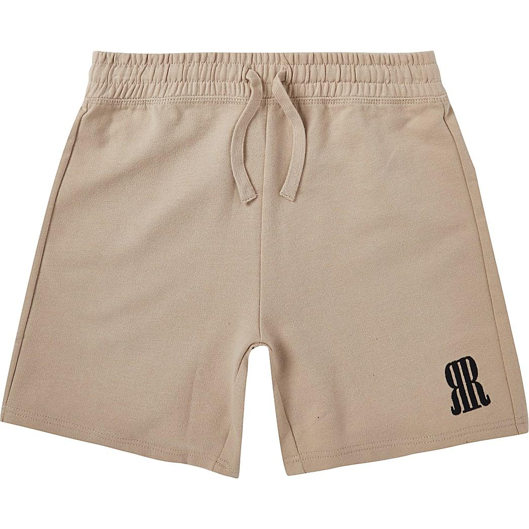 Age 13+ boys beige RR shorts