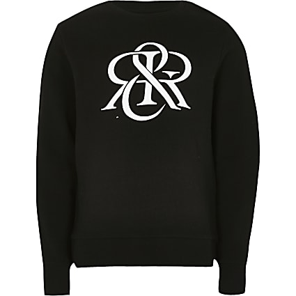 Age 13+ boys black RIR sweatshirt