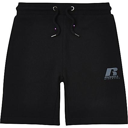 Age 13+ boys black Russel Athletic shorts