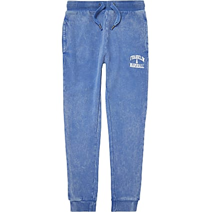 Age 13+ boys blue Franklin & Marshall joggers